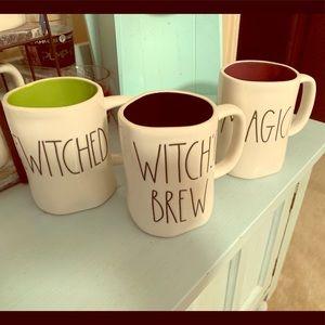 Rae Dunn 2018 Halloween mugs